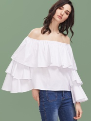 http://www.shein.com/White-Off-The-Shoulder-Bell-Sleeve-Layered-Ruffle-Top-p-337111-cat-1733.html