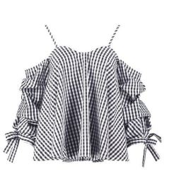 http://www.boohoo.com/sally-gingham-cold-shoulder-cotton-top/DZZ73210.html?color=105