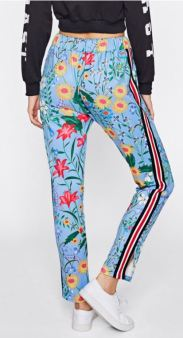 http://www.shein.co.uk/Botanical-Print-Vented-Striped-Side-Sweatpants-p-381737-cat-1740.html